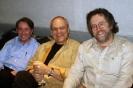 Mark Breslin, Ian Thomas and David Bray